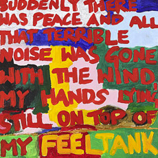 """SUDDENLY THERE WAS PEACE... FEELTANK"" BY AXEL WOLPH (A)"