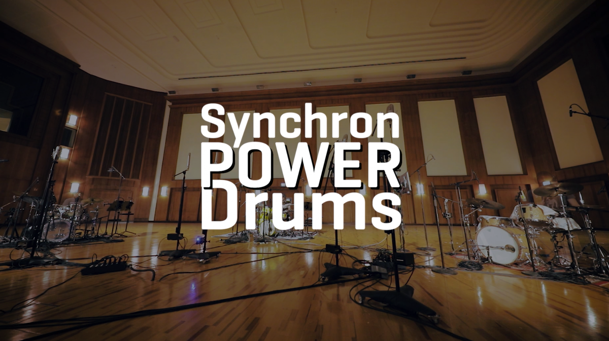 "Synchron stage Session for ""Power drums"""